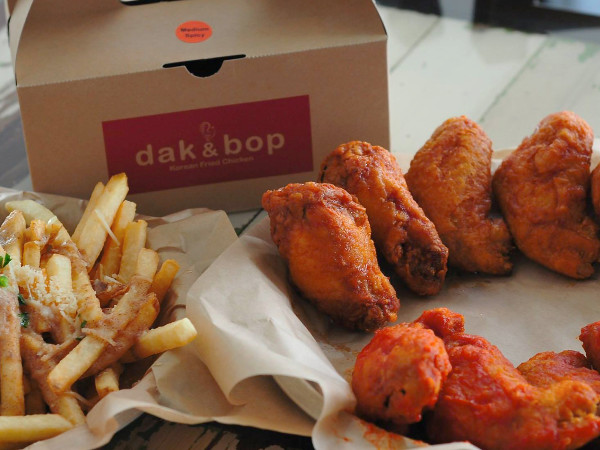 Dak & Bop fried chicken