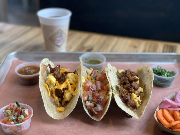 The Pit Room breakfast tacos