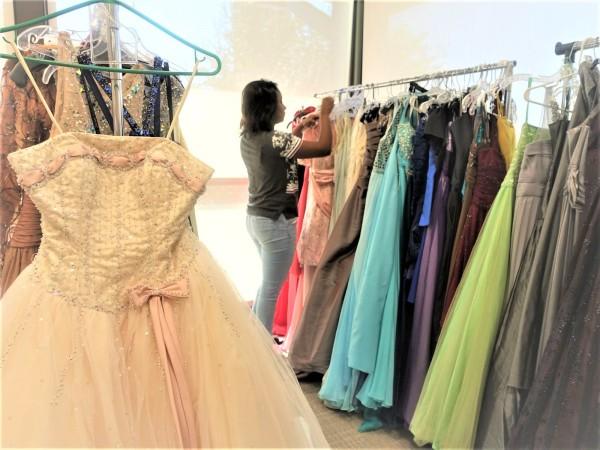 Comerica prom dress drive