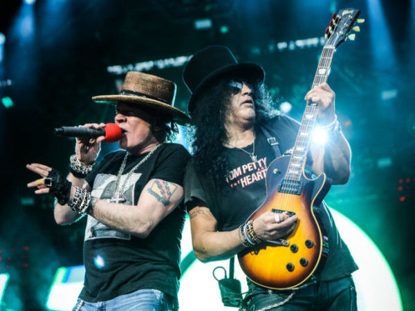 Guns N' Roses in Reykjavik 2018