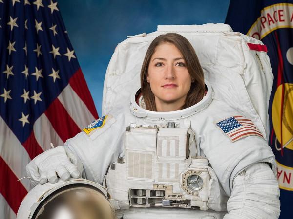 Christina Koch NASA spacewalk flight