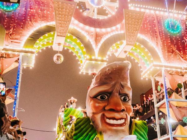 Mardi Gras Galveston Grand Momus Parade