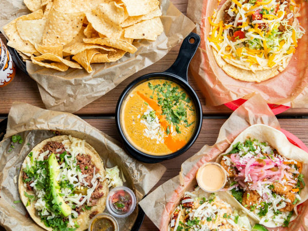 Torchy's Tacos table shot overview