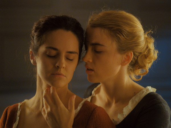 Noémie Merlant and Adèle Haenel in Portrait of a Lady on Fire