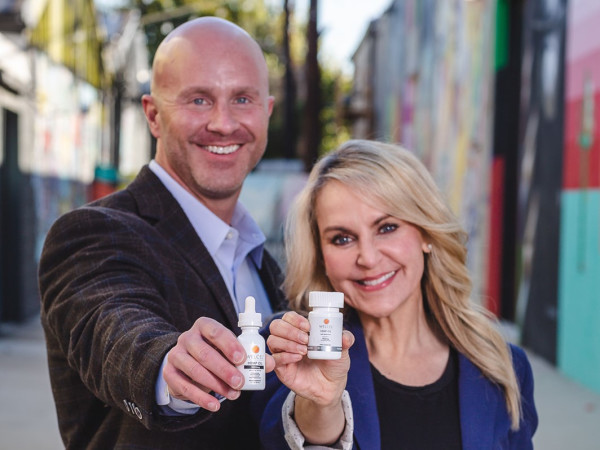 WelCel CBD products, Lisa Gardner, Trey Phillips