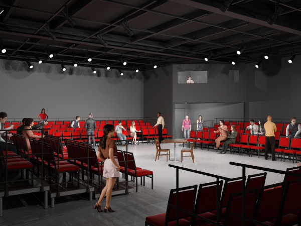 New Stage West studio theater
