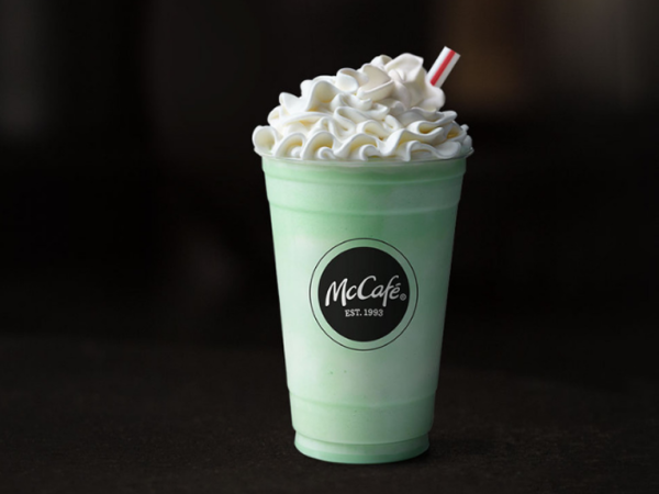 Shamrock Shake McDonald's Drive-thru Gourmet