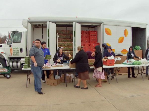 north texas food bank truck