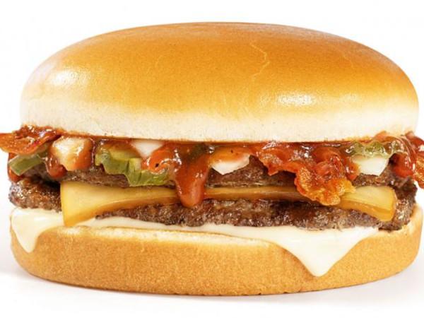 Whataburger BBQ Bacon Burger
