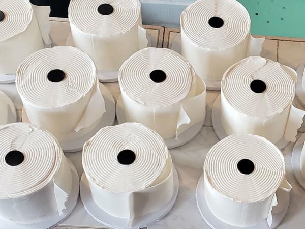 Loft22 toilet paper cakes