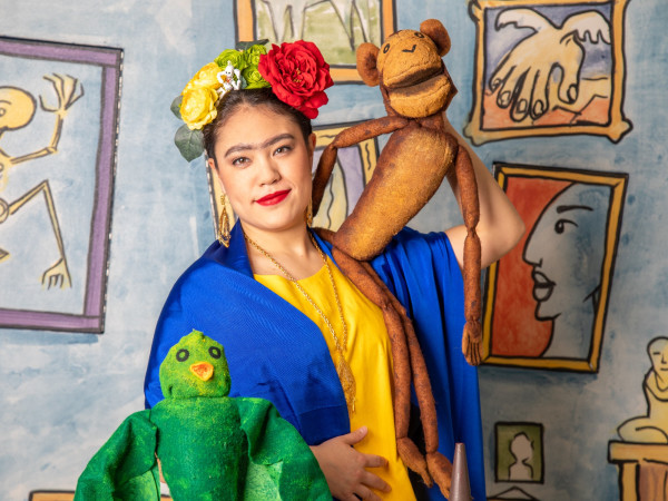 Fort Worth Opera, Frida Kahlo and Bravest Girl in World