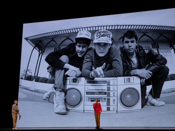 Adam Horovitz and Mike Diamond in Beastie Boys Story