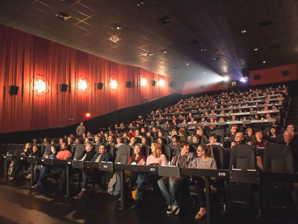 Alamo Drafthouse Houston Vintage Park theater movie-goers