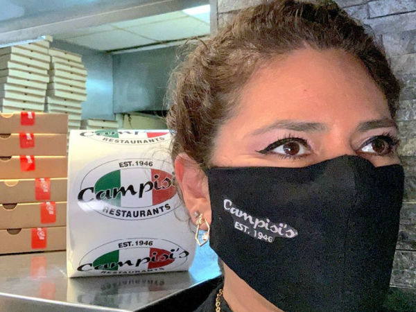 Campisi's pizza