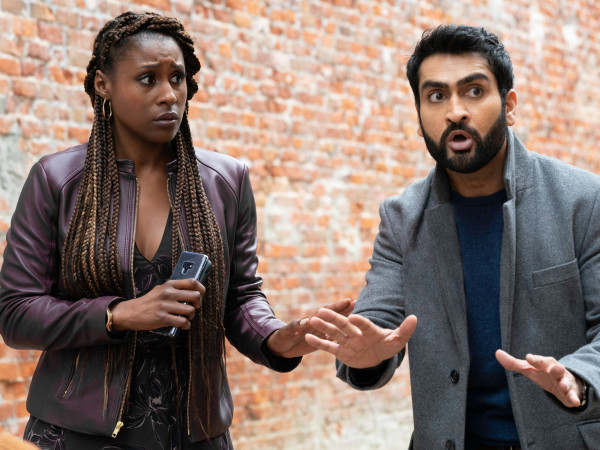Issa Rae and Kumail Nanjiani in The Lovebirds