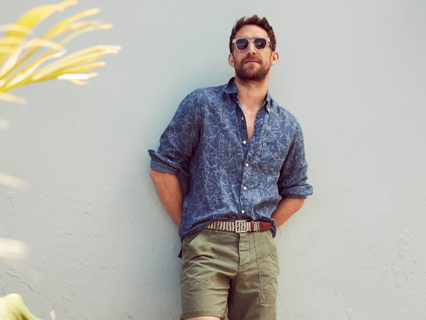 J. Crew male model 2020