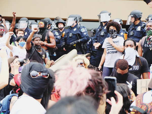 Austin protests sunday apd headquarters