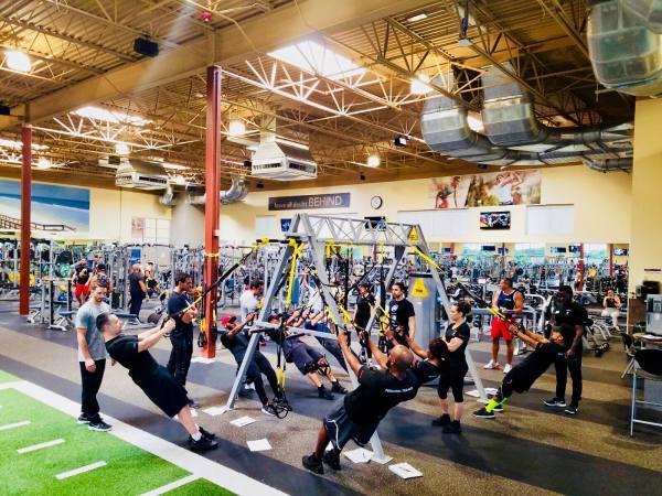 24 Hour Fitness gym