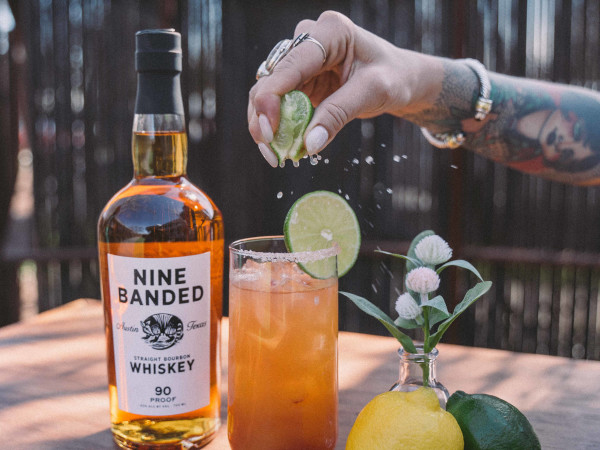 Nine Banded Whiskey cocktail
