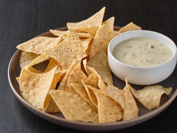 generic chips and queso