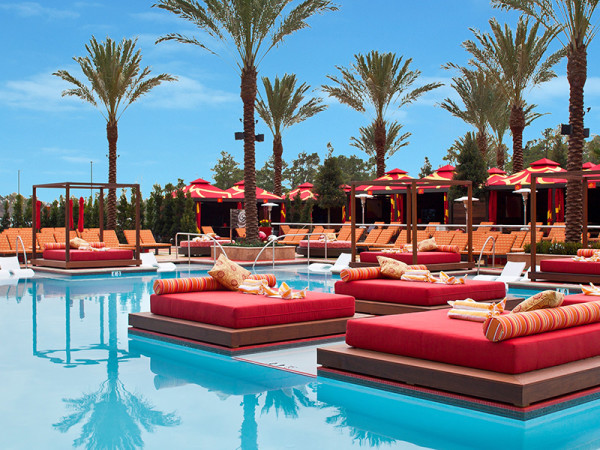 The Golden Nugget Resort pool