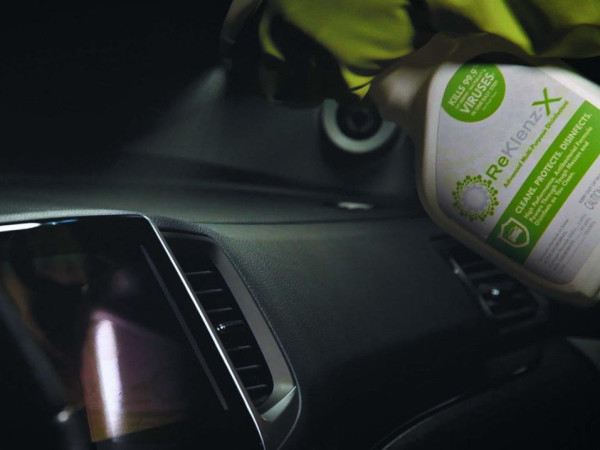 NuVinAir ReKlenz-X car cleaner