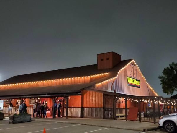 Wild West bar exterior
