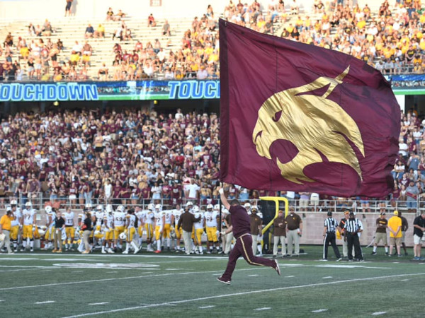 Texas State University football game