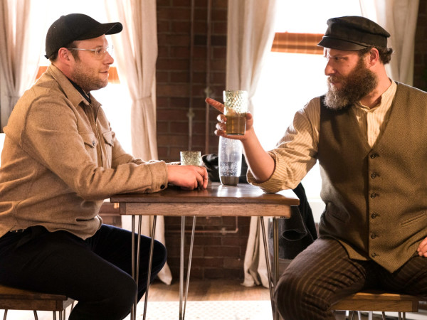 Seth Rogen and Seth Rogen in An American Pickle