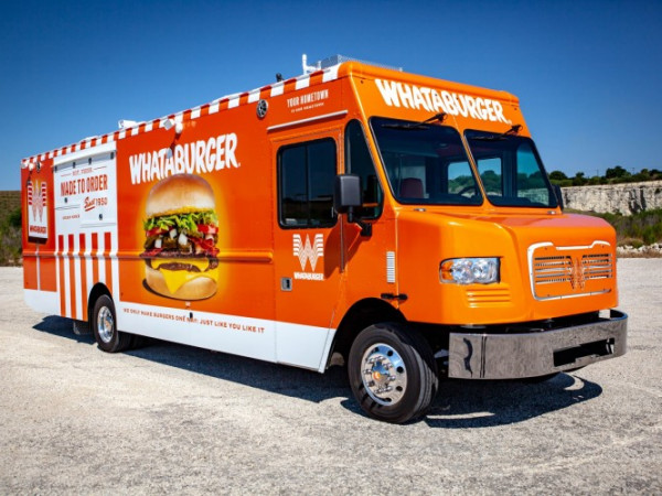 Whataburger food truck