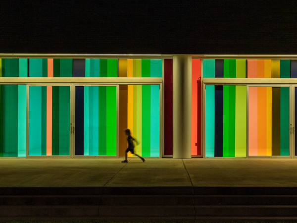 Moody Center: Light Shift