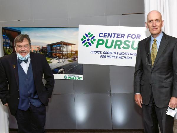 Dr Peter Hotez and Dr James McDeavitt