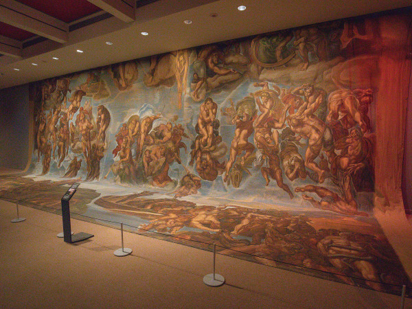 sistine chapel backdrop