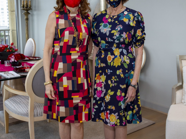 Salvation Army luncheon 2020 Chic Boutique Vicki West (77056) Lilly Andress (77019)