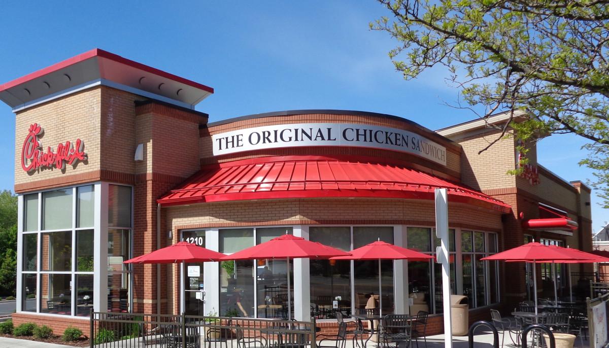 Chick fil A exterior