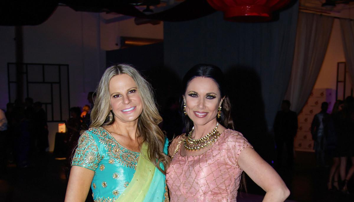 Colorful saris brighten Dallas nonprofit's Bollywood-themed bash