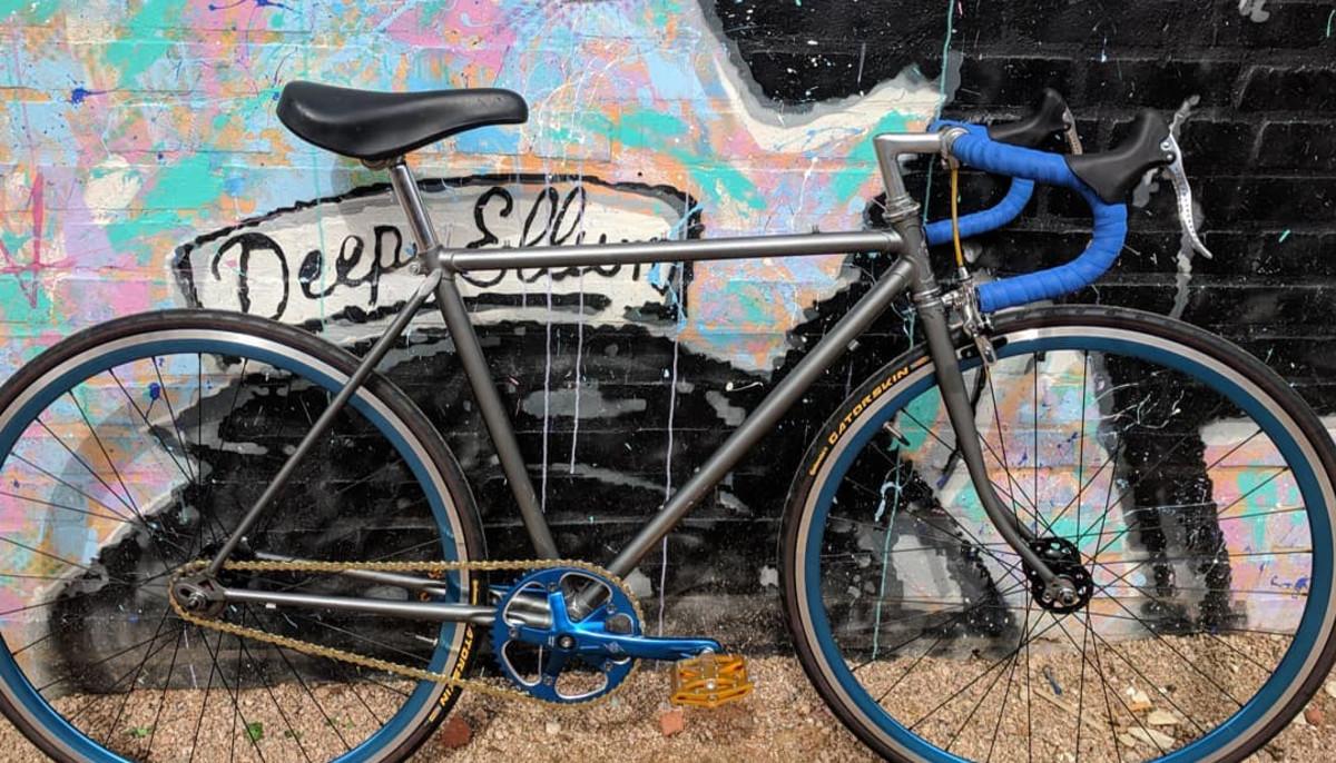 Bike in Deep Ellum