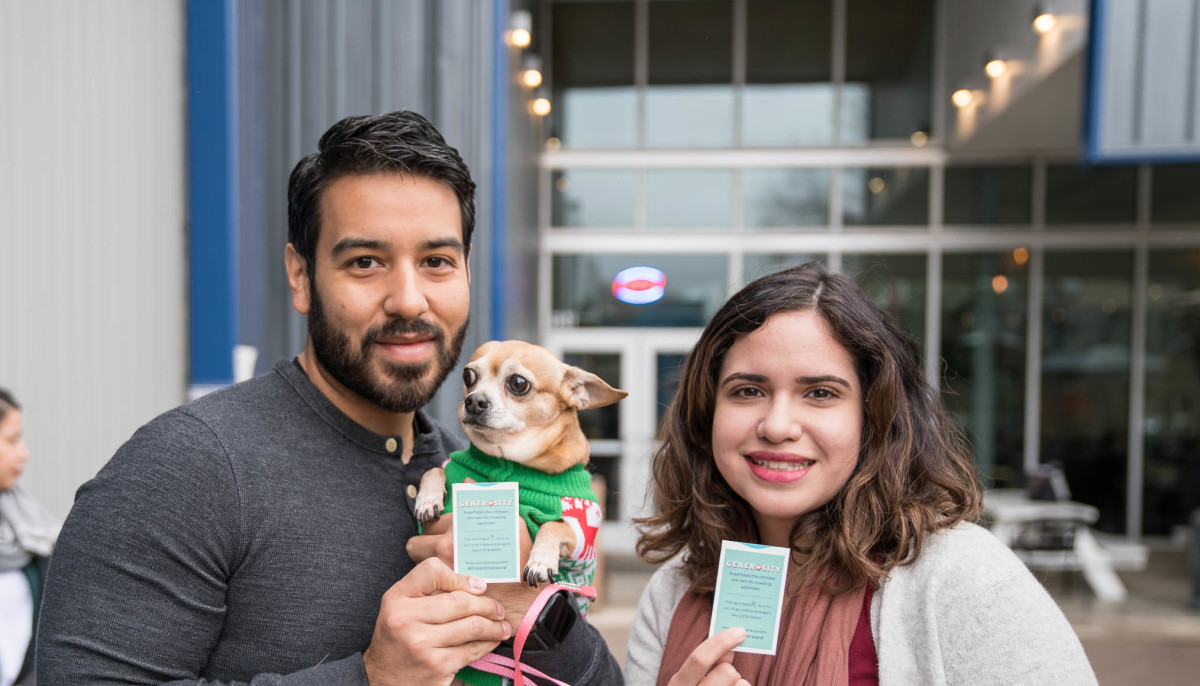 Frost Bank warms hearts and cold noses at Austin Eastciders pup party