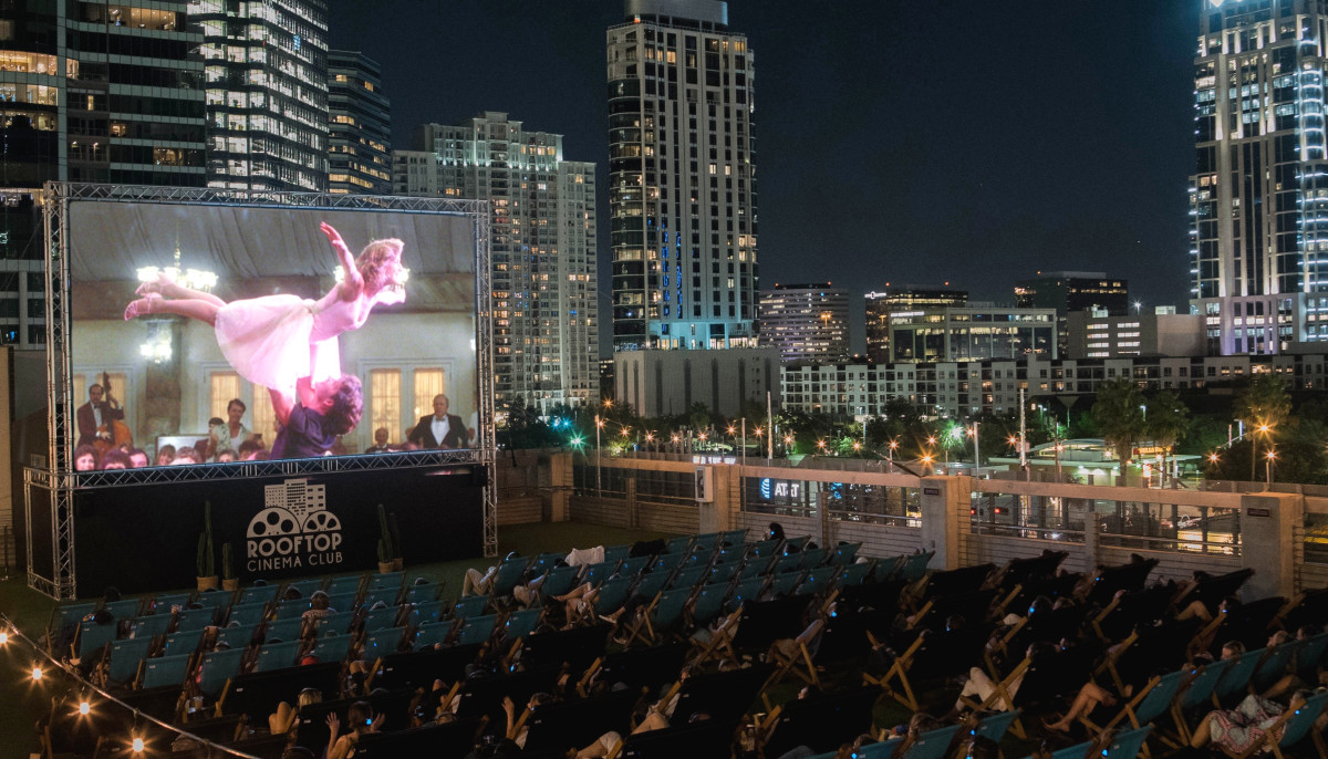 Houston's rooftop cinema reveals new July lineup and fun themed nights