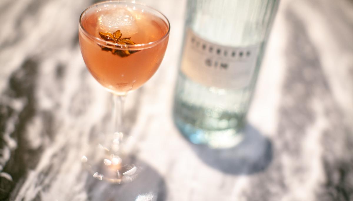 Blackland Distillery gin cocktail