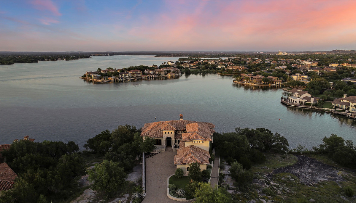 This is undeniably one of the most exquisite estates on Lake LBJ