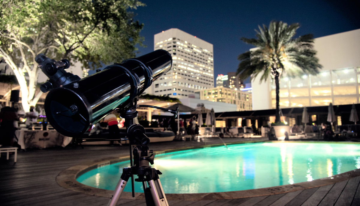 Houston hotel's space-themed July celebrations are out of this world