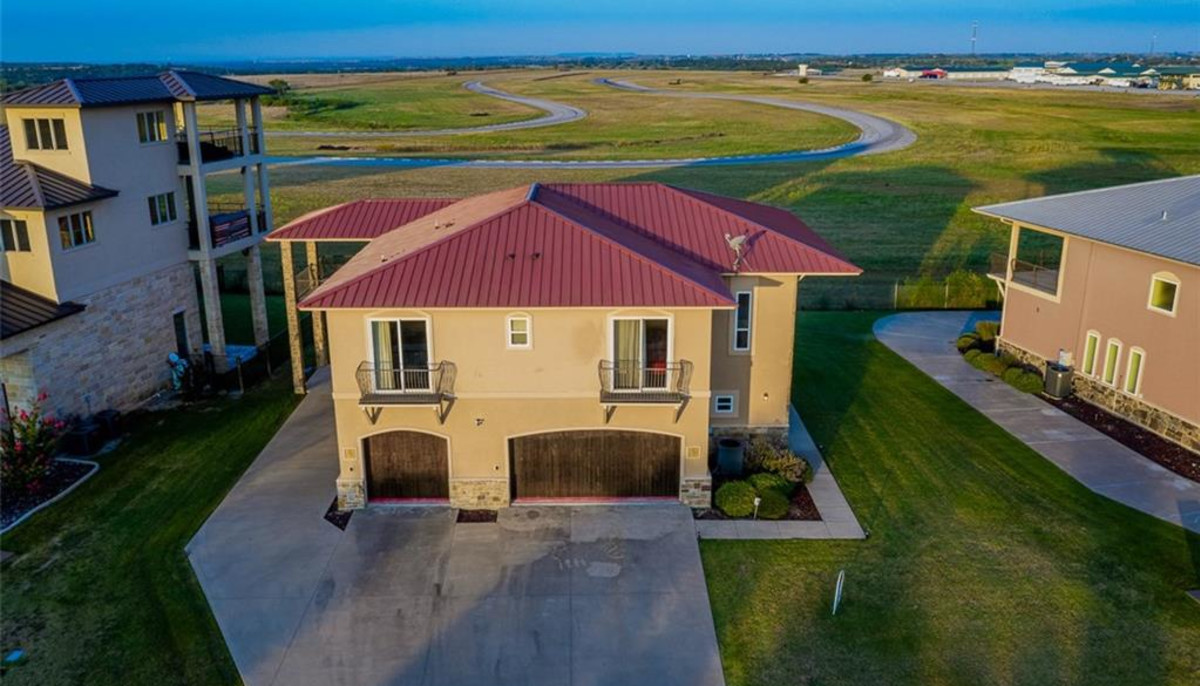 This Texas home for sale comes with its own backyard racetrack