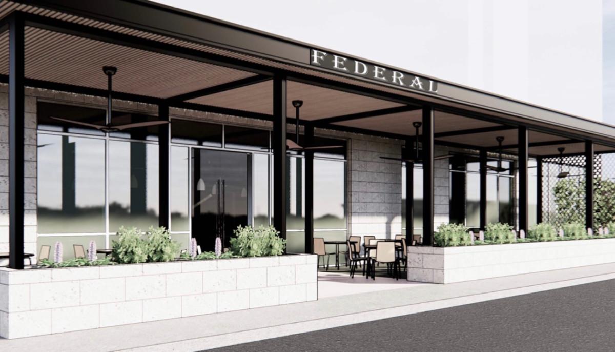 Federal Grill Hedwig Village rendering