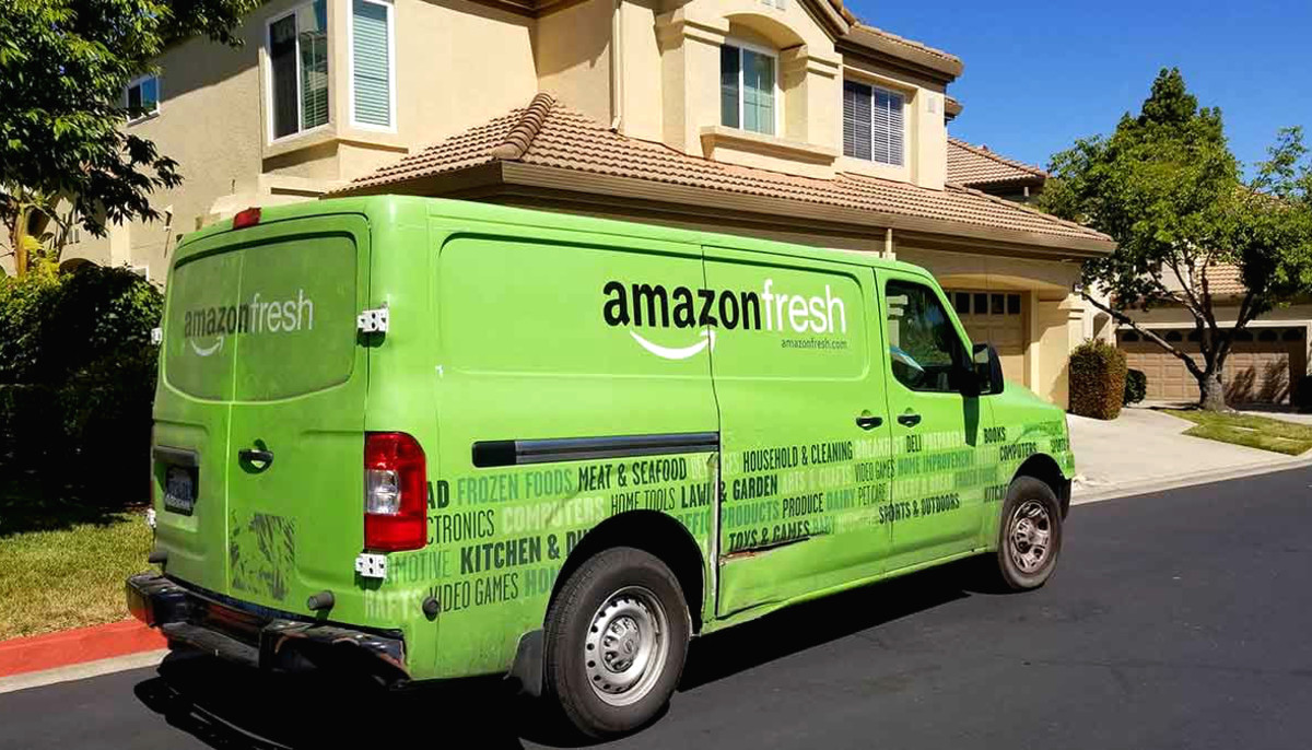 Amazon gets fresh in Houston with new 1-hour grocery delivery service