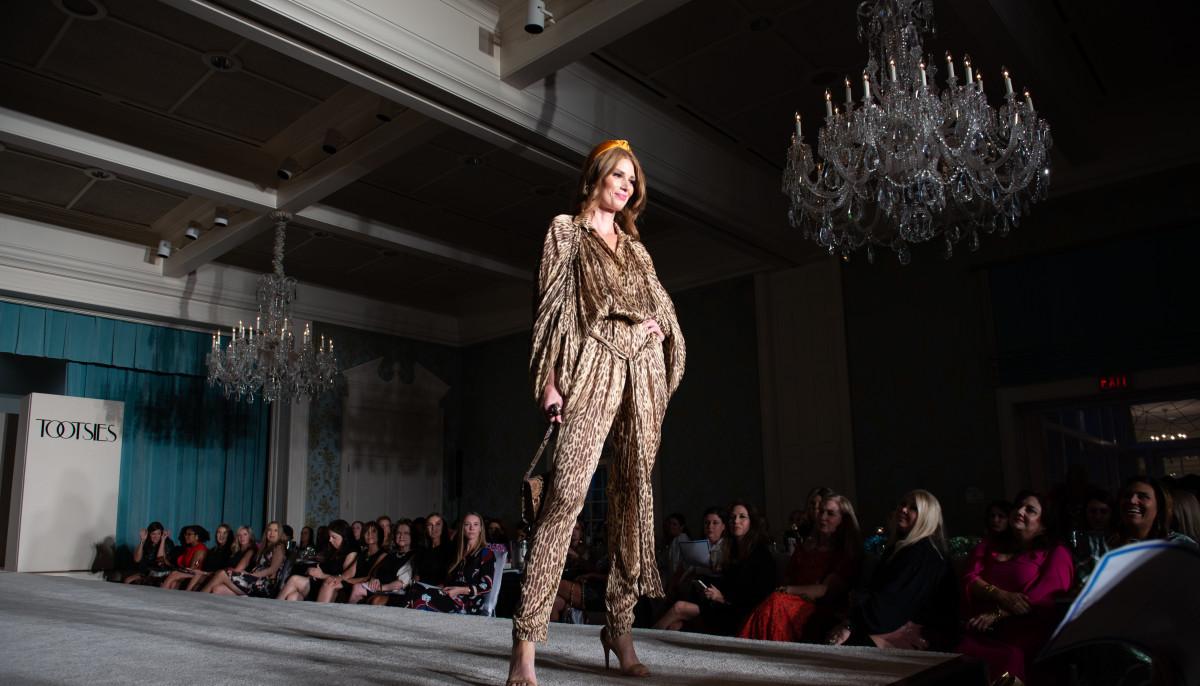 Fashion Unlocked Junior League model