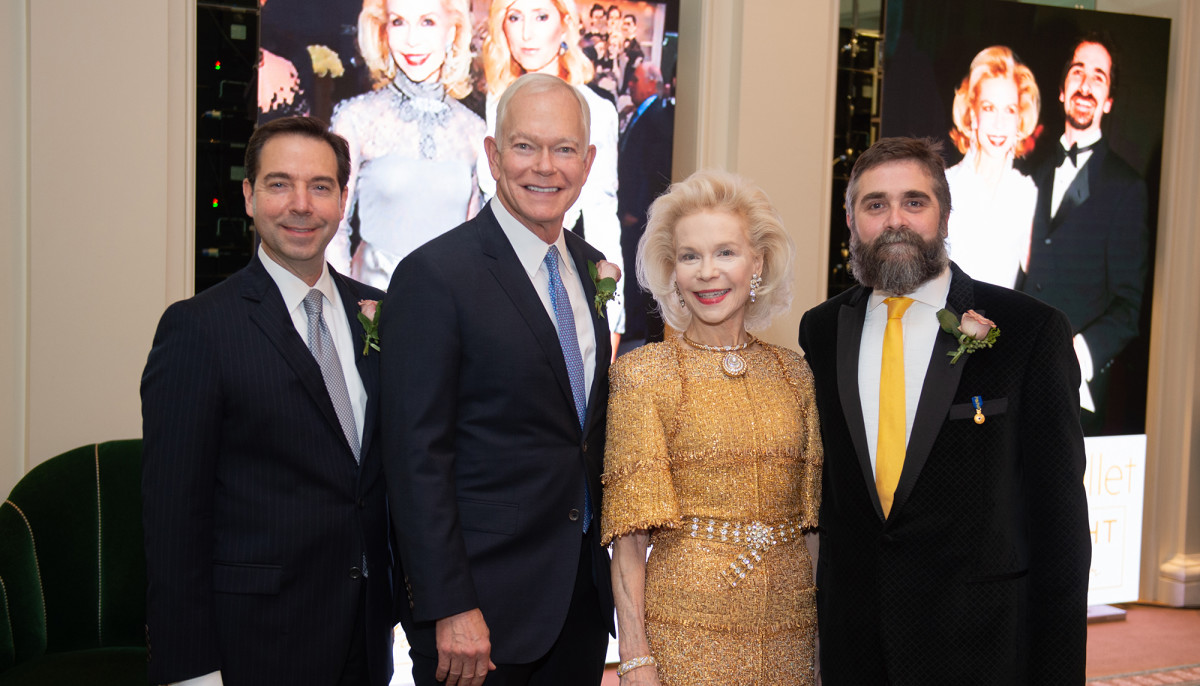 Houston Ballet toasts society queen with lavish onstage dinner