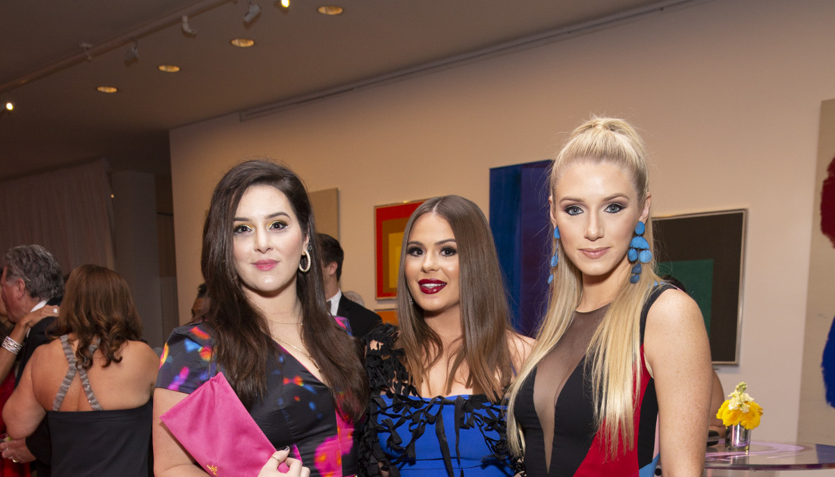 Houston A-listers make a splash at MFAH's vibrant grand gala