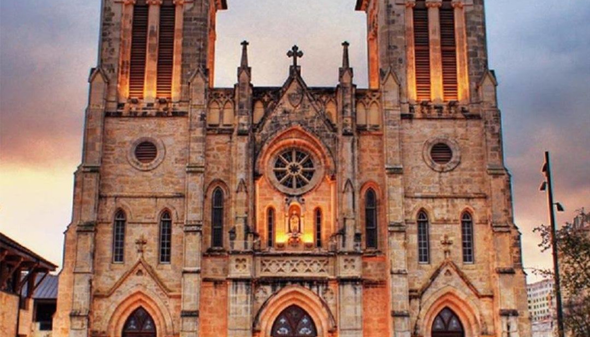 Texas cathedral creeps onto list of America's most haunted places