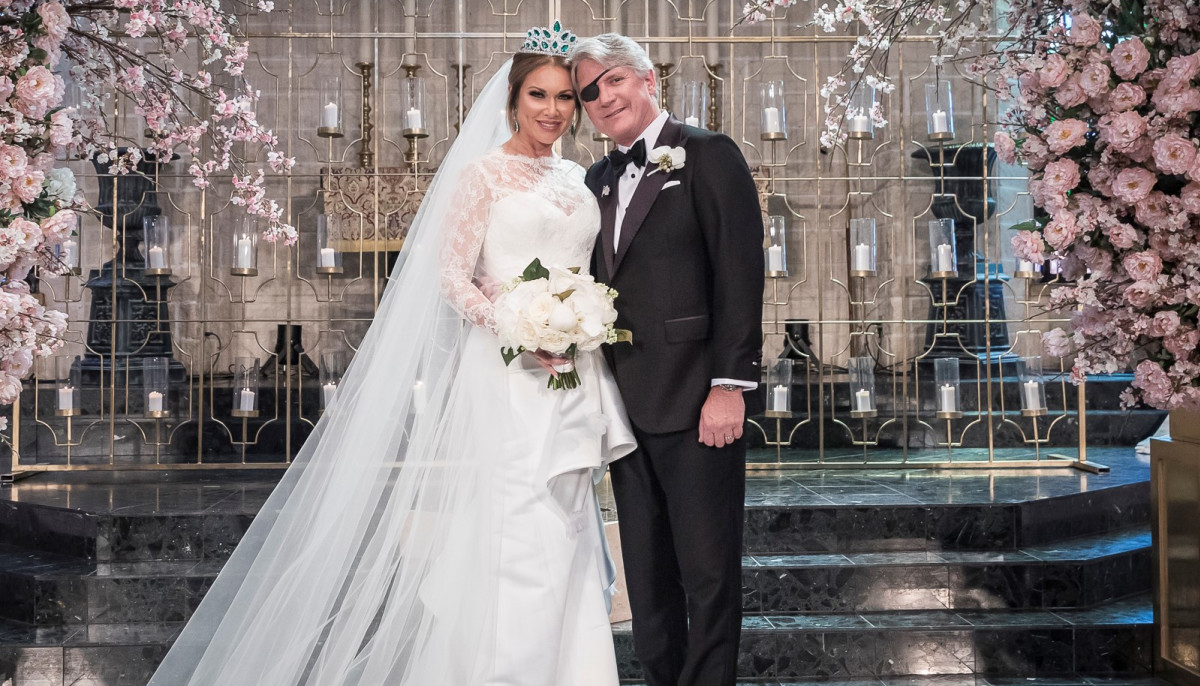 Real Housewives star lifts the veil on her $4 million Texas wedding